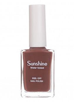 Лак для ногтей на водной основе Sunshine(14 Chocolate)
