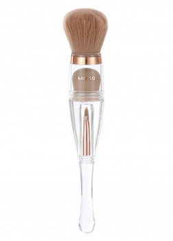 Кисть для макияжа 3в1 Mineral