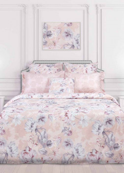 Постельное белье 1,5-спальное Lovere Pink Clay COZY HOME