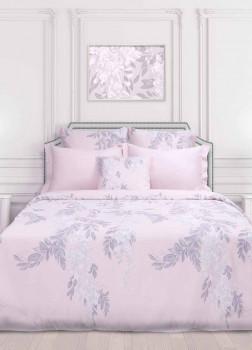 Постельное белье Евро Bliss Pink Clay COZY HOME