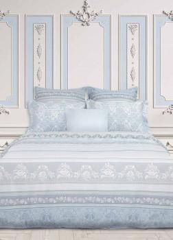 Постельное белье 2-спальное Fresco Dusty Ice COZY HOME