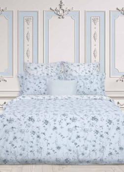 Постельное белье 2-спальное Lipari Dusty Ice COZY HOME