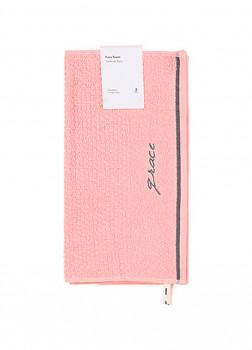 Полотенце для лица 2 шт розовый