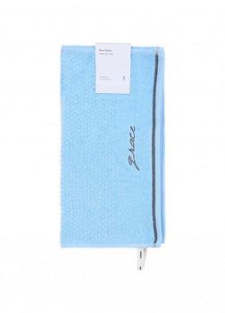 Полотенце для лица 2 шт голубой