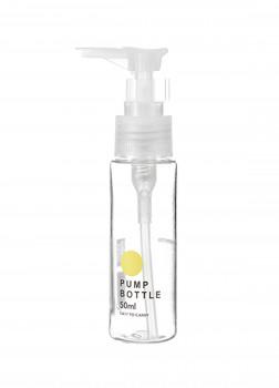Прозрачная Бутылка с помпой 50 мл